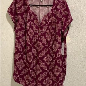 Women's casual career blouse. NWT 2X